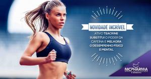 Novidade Incrível: Ativo Teacrine substitui o Poder da Cafeína e melhora o desempenho físico e mental.